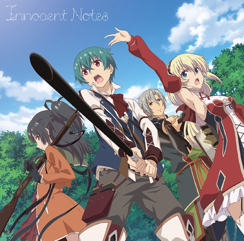 Taketatsu Ayana - Innocent Notes detail single cd watch official pv youtube lyrics kanji romaji Opening anime Grimms Notes The Animation