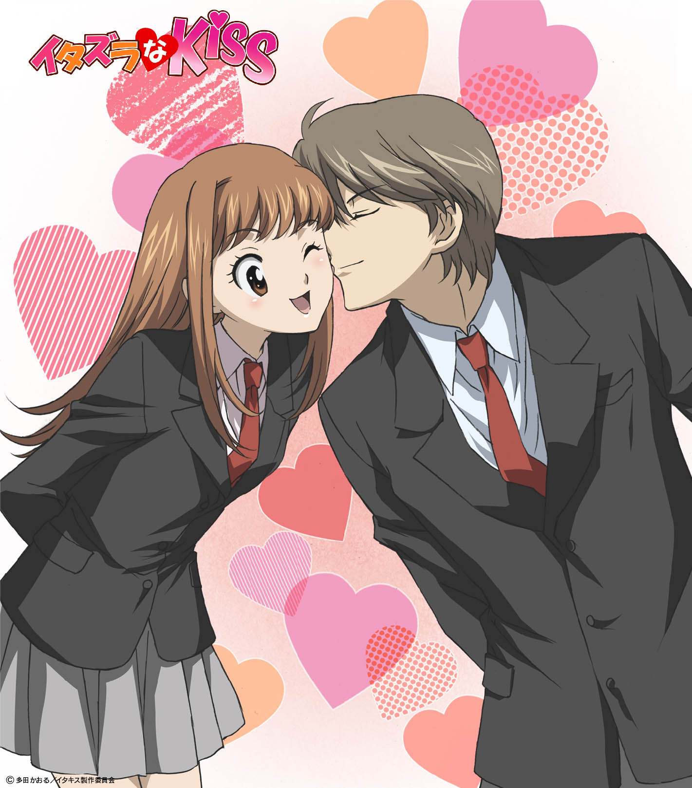 Смотреть онлайн аниме озорной поцелуй 5 фотография