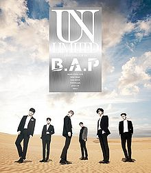 Unlimited (B.A.P) - generasia Bap 1004 Album Cover