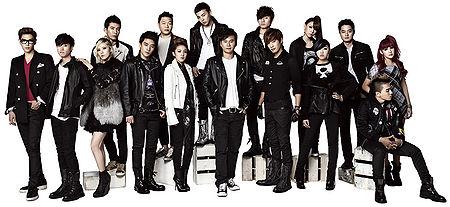 YG Family - generasia