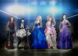 "Aldious promoting "" Other World "" & Dazed ..."