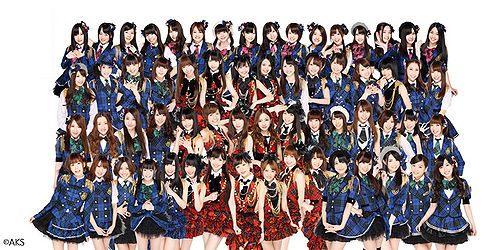 AKB48 Tom Tom Magazine Article