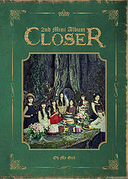 Closer Oh My Girl Mini Album Generasia