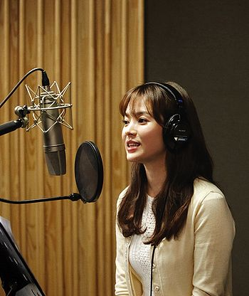 Song   Picture on Song Hye Kyo Promoting Song Hye Kyo Debut 2012