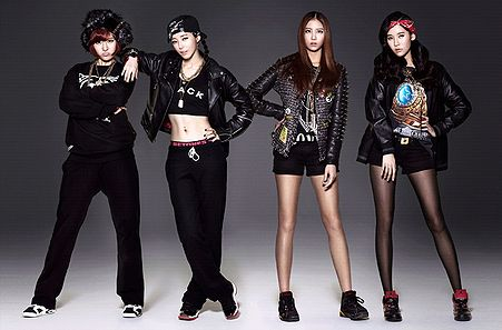 Female Kpop Group Mv In A Glass Cage